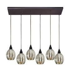Mini Pendant Lighting Fixtures Kichler Everly Chrome Mercury Glass Mini Pendant Light Lotus