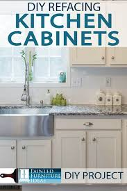 refacing kitchen cabinets ideas painted furniture ideas diy refacing kitchen cabinets