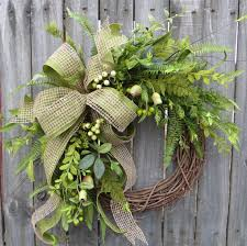 spring wreaths for front door everyday wreath everyday pod and burlap wreath spring