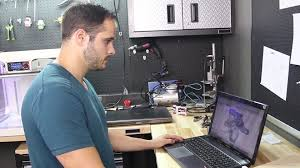 Cad Technician Engineer Uses Additive Manufacturing To Enhance Motorcycle
