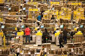 amazon warehouse black friday this is what the amazon warehouse looks like a month before