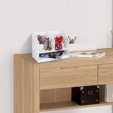 Wood Plastic Composite Furniture Wood Healthy 2 Tier Wood Plastic Bookshelf Composite Unit Desktop