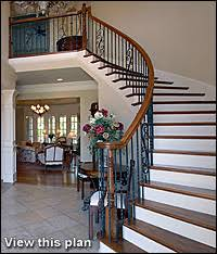 Custom Stair Designs The House Designers - Staircase designs for homes