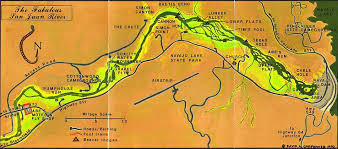 san juan map map of the san juan river quality waters
