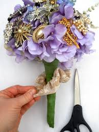 How To Make Floral Arrangements Step By Step How To Make A Brooch Bridal Bouquet How Tos Diy