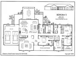 one story 5 bedroom house floor plans pinterest brilliant 4 luxihome