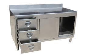 Steel Kitchen Cabinet Commercial Kitchen Cabinets Chic Design 6 Stainless Steel Kitchens