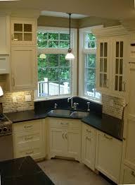 Kitchen Corner Sink by Wooden Kitchen Corner Cabinet With Sink Modern Kitchen Furniture