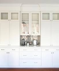 Built In Bar Cabinets From Construction Grade Oak To Industrial Luxe White Cabinets