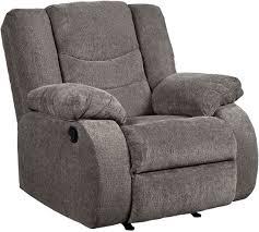 gray rocker recliner