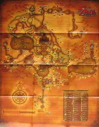 Map Of Hyrule Twilight Princess Overworld Map