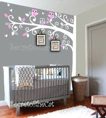 Pink And Brown Nursery Wall Decor Pink And Grey Nursery Wall Decor Damask Nursery Decor Pink Gray