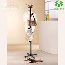 2017 minki summary fashion creative floor folding hanger hanger