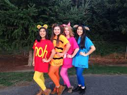 monsters inc halloween costumes adults diy winnie the pooh and friends costume under 15 each diy