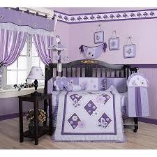 Lavender Butterfly Crib Bedding Geenny Lavender Butterfly 13 Crib Bedding Set Walmart