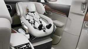 location voiture avec siège bébé le concept de siège auto de luxe pour enfant par volvo cars