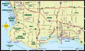 Los Angeles Zip Code Map by Los Angeles Map In California