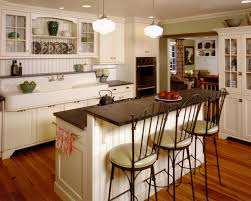 french country cottage kitchen black wood kitchen cabinet soft