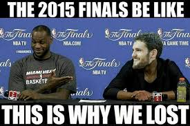 Nba Finals Meme - nba memes on twitter lebron james blame in the 2015 nba finals