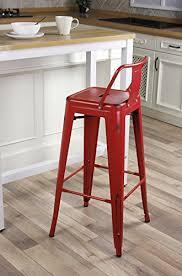 Red Bar Stools With Backs Red Bar Stools U2013 Bar Stools
