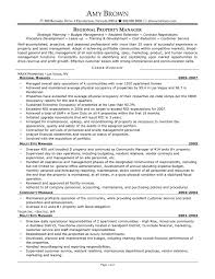 property manager resume regional property manager resume sles property