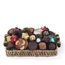 holiday chocolate gift basket kron chocolatier