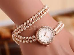 price bracelet images Girls pearl bracelet watch price in pakistan m009048 prices jpg