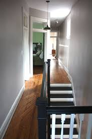 How Much To Paint Interior Trim 17 Apart Our Gray Halls Painting The Upstairs Hallway