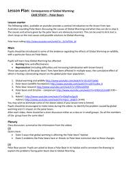 Global Warming Worksheet Climate Change And Global Warming By Edbentham Teaching