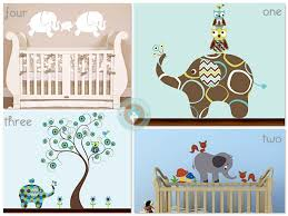 elephant nursery decals growing your baby