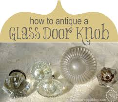 glass antique door knobs how to antique a glass knob with decoart glass paint the scrap