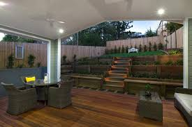 steep driveway deck traditional with fence planter boxes