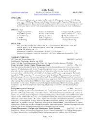 Job Resume Management by Change Management Resume Berathen Com