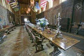Dining Room And Table Settings At Hearst Castle Americas - Hearst castle dining room