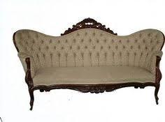 Victorian Sofa Set by Dresden Victorian Style Bone Velvet Upholstered Living Room Sofa