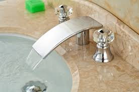 Wholesale And Retail Promotion Chorme Big Waterfall Faucet Elegant Bathroom Fixtures Wholesale
