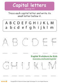 capital letters u2013 english worksheets for kids u2013 mocomi com