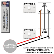 1 gang 2 way switch wiring diagram gooddy org