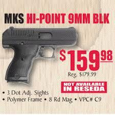 turners black friday mks hi point 9mm 8 rnds 159 98 in store at turner u0027s slickguns