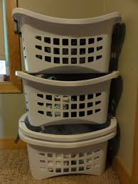 Container Store Laundry Hamper by Before And After Baby Sterilite Stacking Laundry Baskets Review
