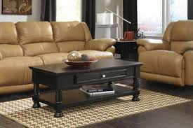 vintage black coffee table with storage 42 for your small home
