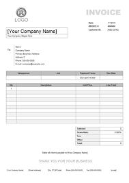 invoice example with service invoice example from edrawsoftcom