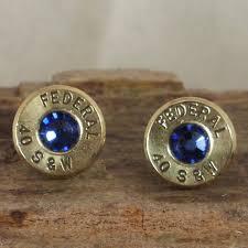 bullet stud earrings bullet earrings stud earrings ultra thin federal 40 s w
