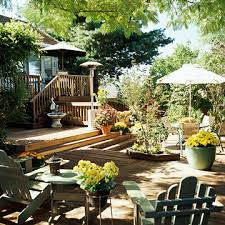 Deck Garden Ideas Multilevel Decks
