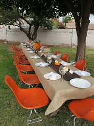 outdoor thanksgiving table decorations the home design