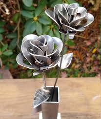 forever roses these metal valentine u0027s roses will never wither and die