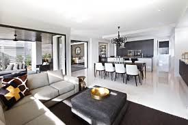 Combined Living Room And Dining Room Clarendon Homes Fairmont 40 Open Plan Living Combining The