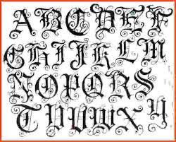 tattoo lettering styles sponsorship letter
