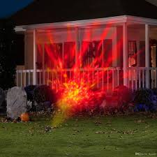 halloween light display projector 2018 newest rotating projector light kaleidoscope spotlight outdoor