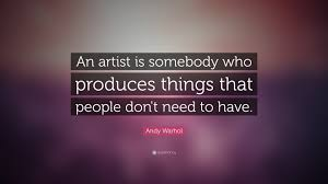 Artist Love Quotes by Andy Warhol Quotes About Art Quotes Love Pedia
